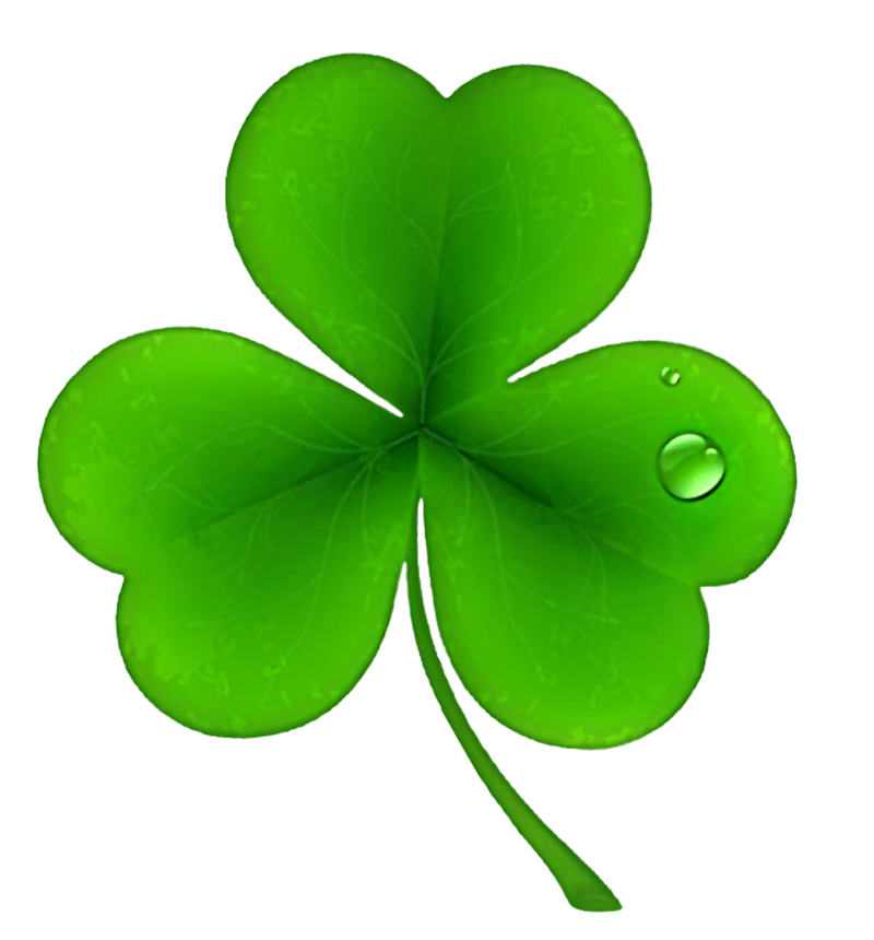 svg black and white library Clover clipart st pats. Patricks day shamrock png.