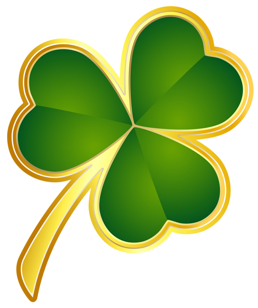 jpg freeuse library Patrick s day png. Clover clipart st pats.