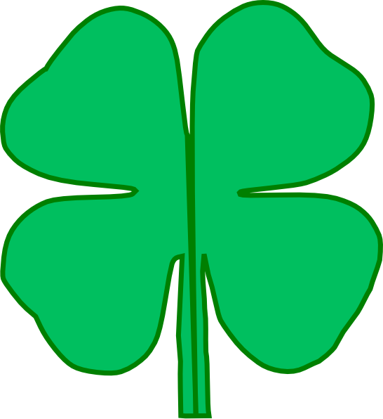 clipart royalty free download clover leaf clipart #61388924