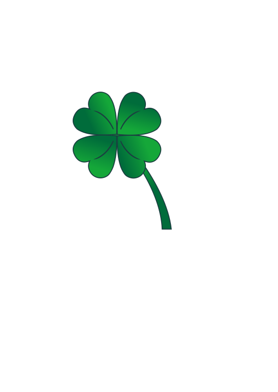 free stock Four Leaf Clover