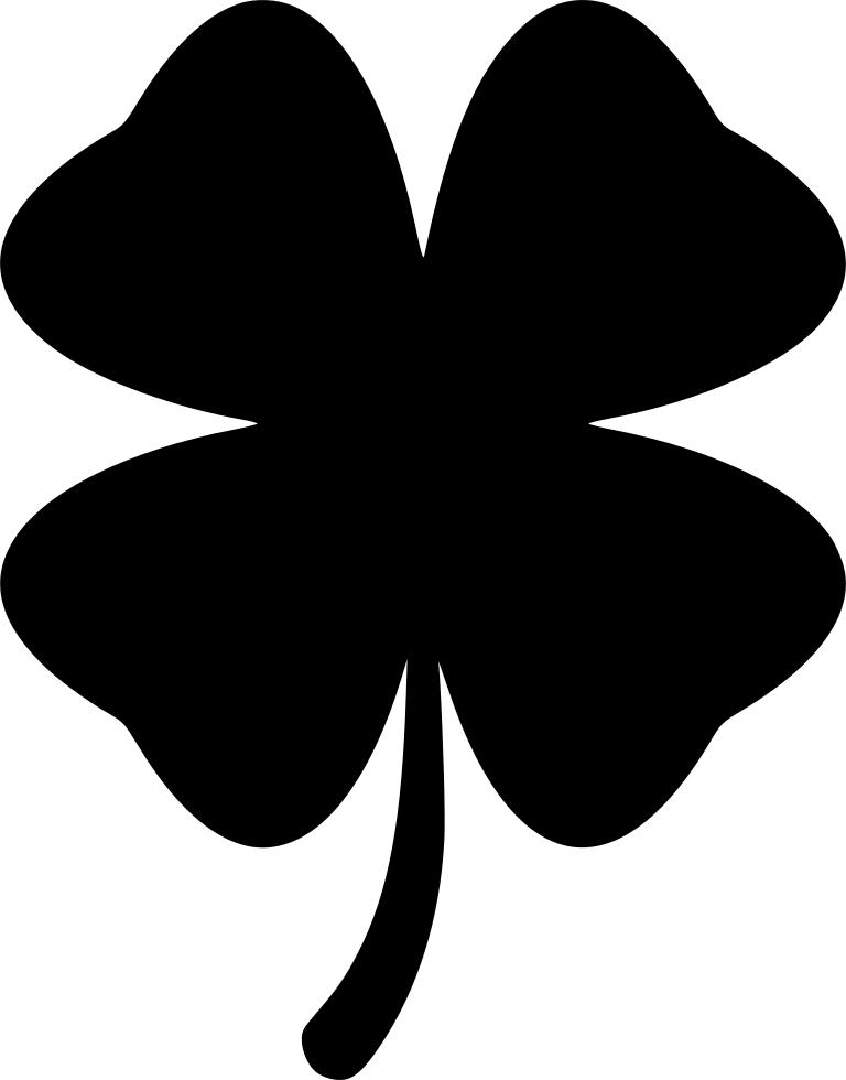 jpg free Clover svg. Four leaf png icon.