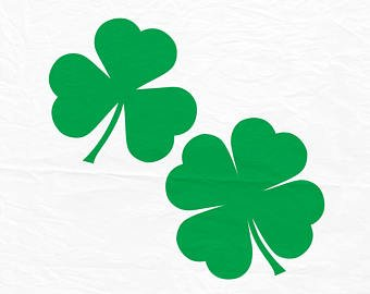 graphic library library Shamrock leaf