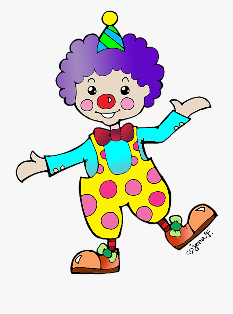 svg stock Clown clipart. Carnival png free .