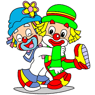 jpg transparent download Clown clipart. Cute cartoon clip art.