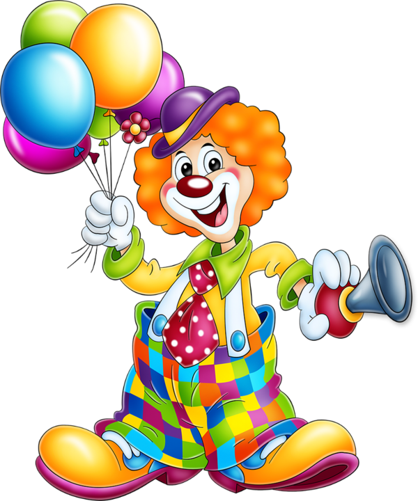 graphic library Tubes clowns pinterest palha. Clown clipart.