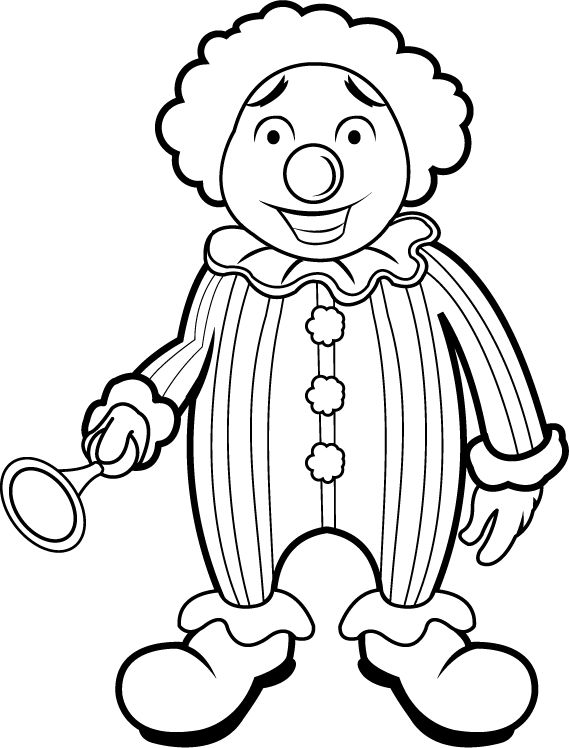 freeuse library clown clipart images #69462580