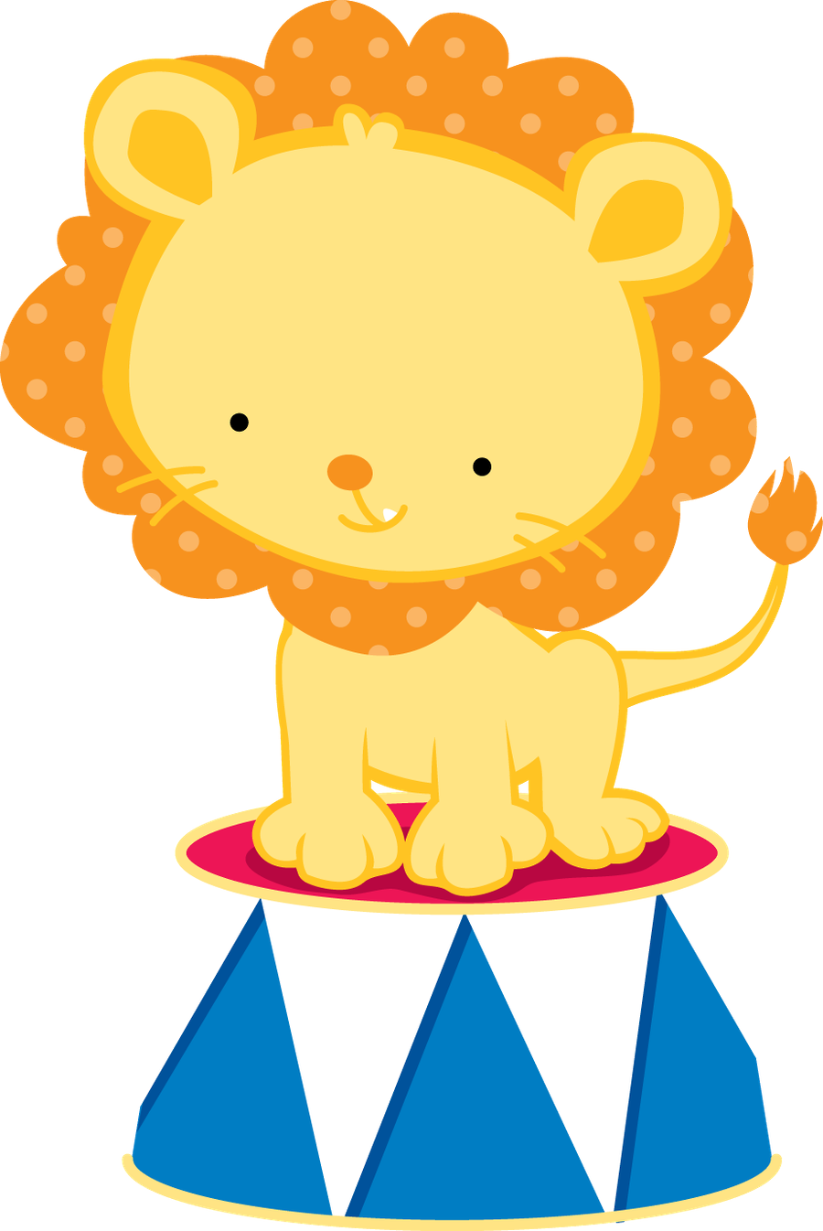 png royalty free download Clown clipart circus lion. Minus say hello cumplea.