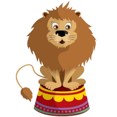 clipart free stock Pin by debbie west. Clown clipart circus lion.