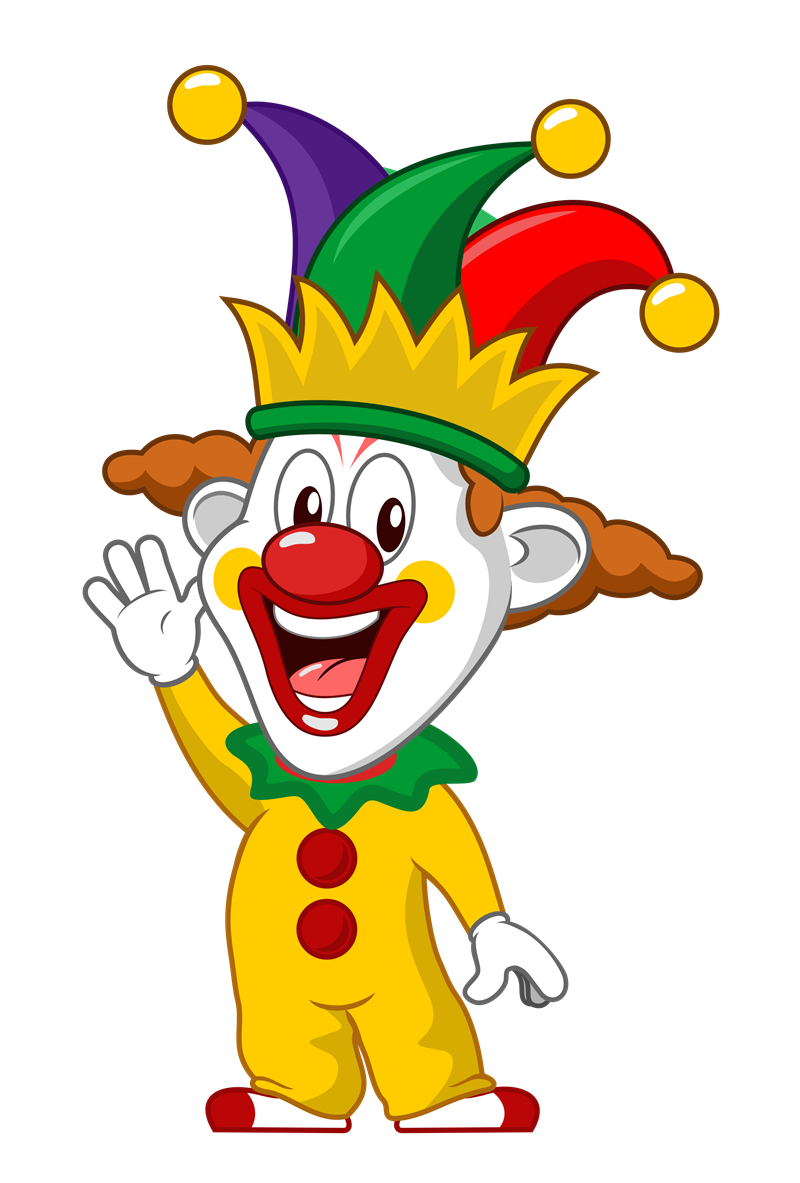 clipart freeuse library Clown clipart easy cartoon.  collection of cute.