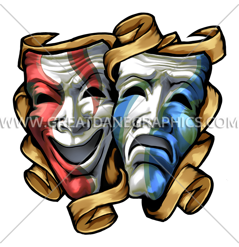 image free stock Club clipart drama production. .