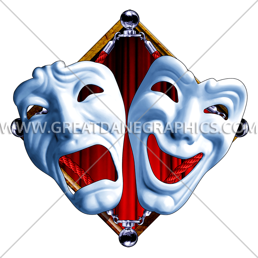 image free stock . Club clipart drama production.
