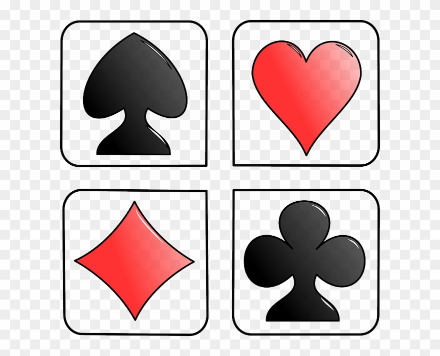 image free Club clipart spade. Game cards diamond heart.