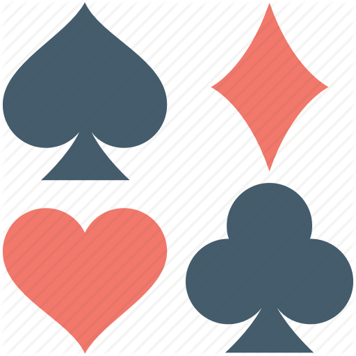 picture stock Heart pattern background suit. Club clipart spade.