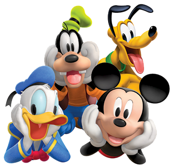 clip free download Clubhouse clipart house disney. Mickey mouse gang .