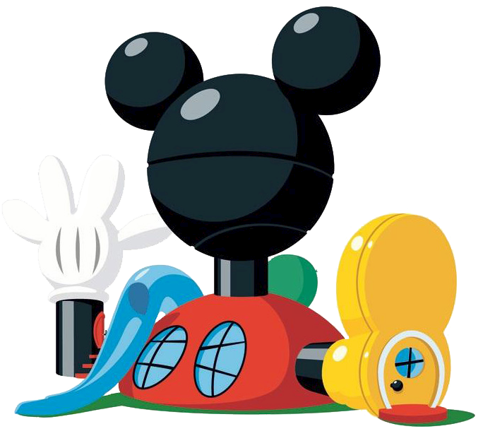banner transparent stock Disney mickey mouse party. Clubhouse clipart jpeg.