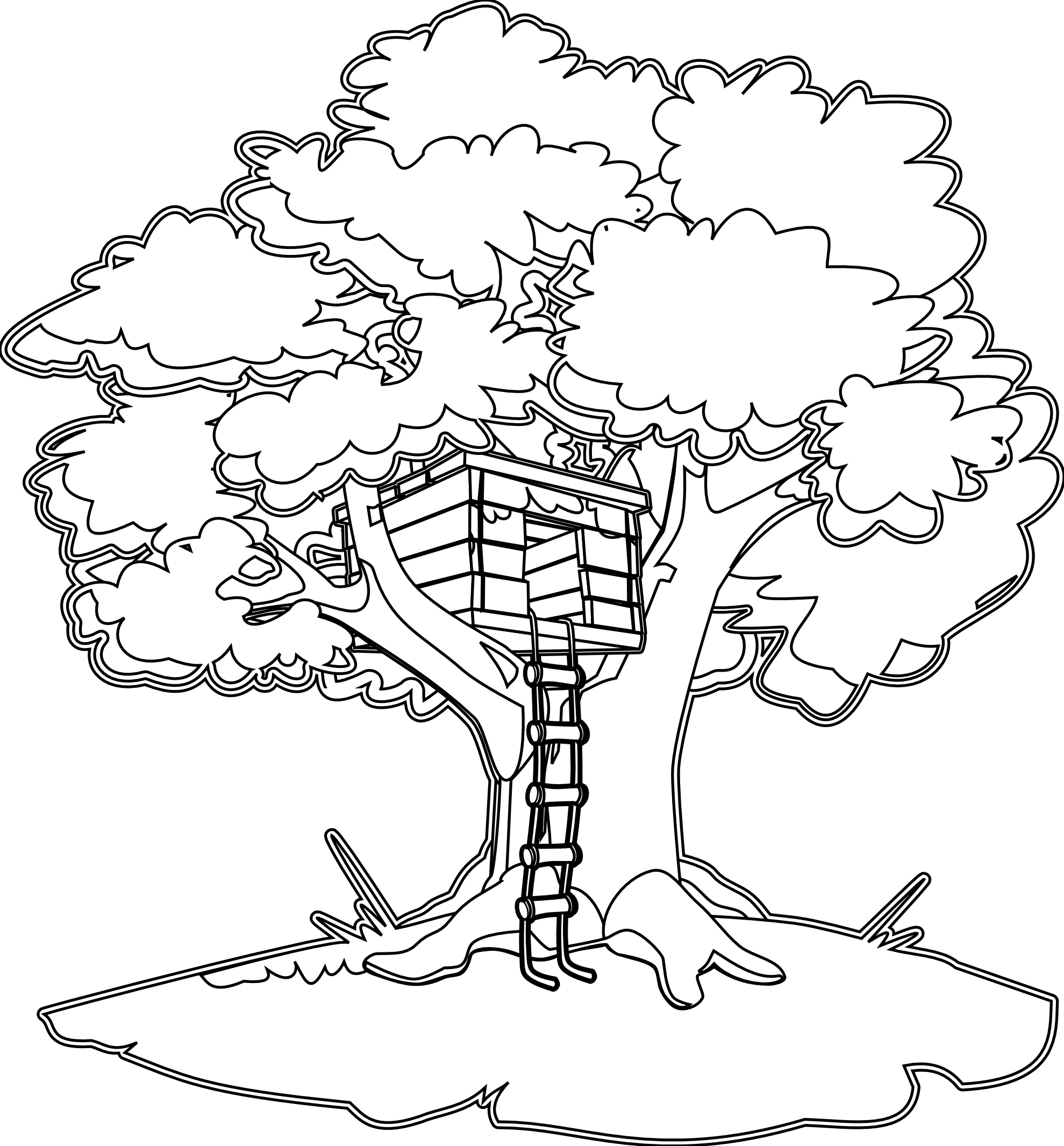 clip transparent download  collection of magic. Clubhouse clipart magical tree.