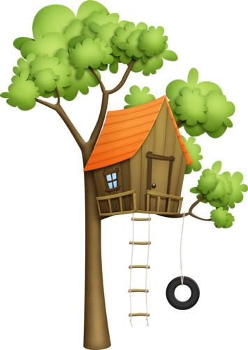 jpg transparent Clubhouse clipart magical tree. A ev pinterest houses.