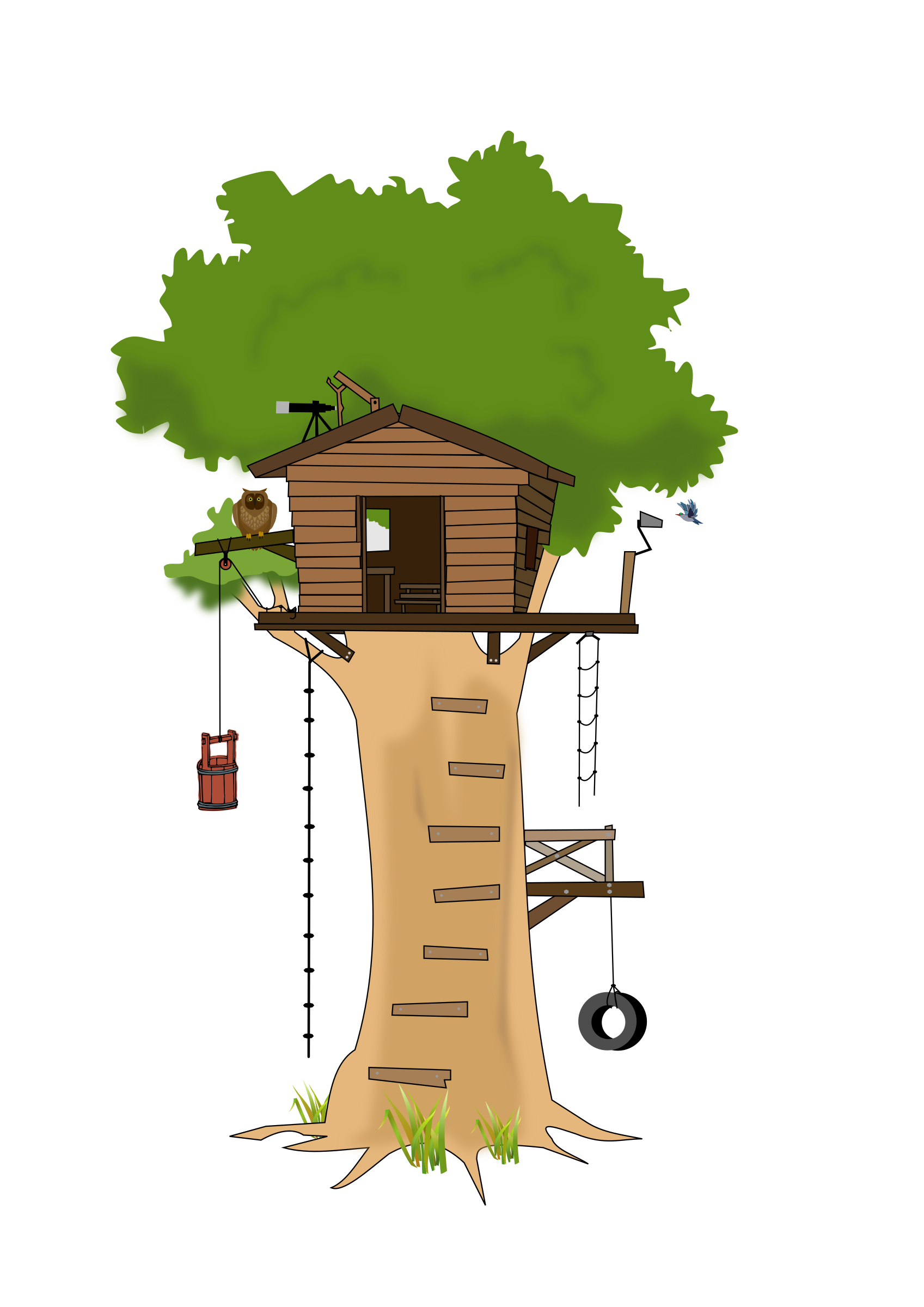 clip art freeuse stock Clubhouse clipart magical tree.  collection of high.