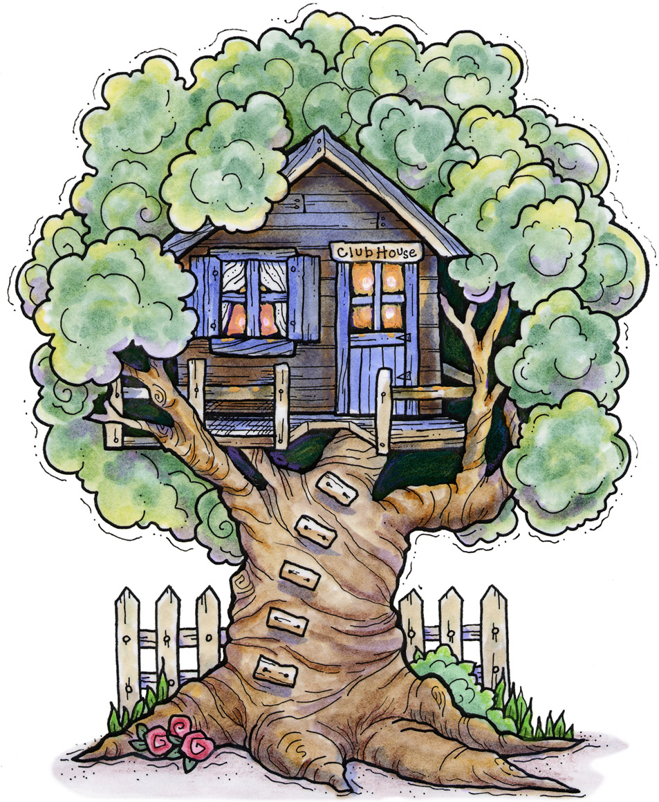 picture library stock Clubhouse clipart magical tree. Free cliparts download clip.