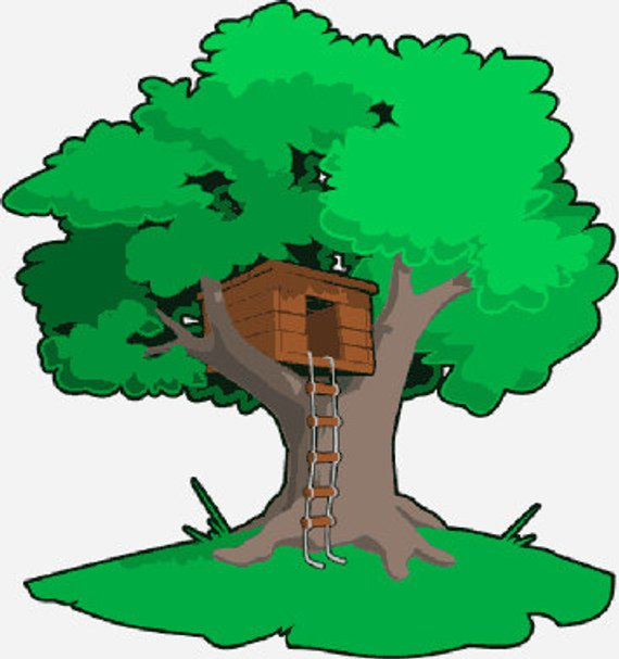png free download Download for free png. Clubhouse clipart magical tree.