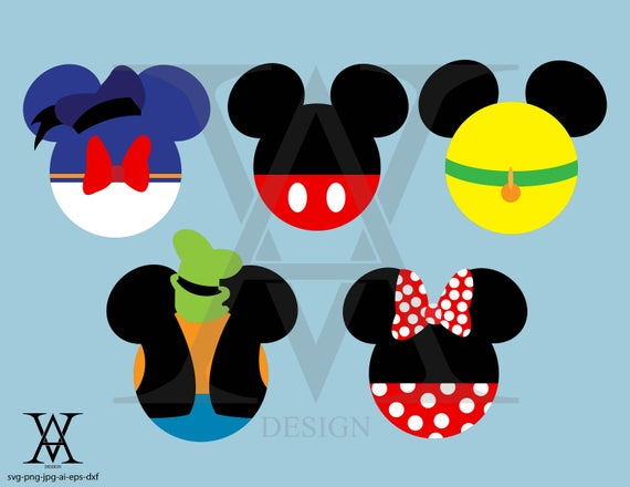 clipart black and white stock Clubhouse clipart svg. Mickey mouse logo vector.