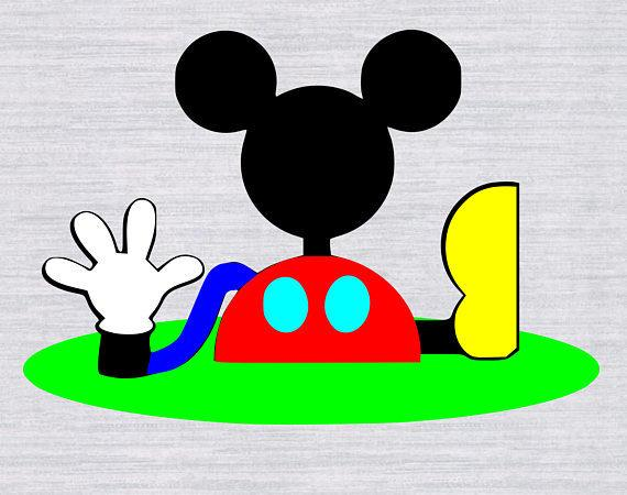 clip art black and white library Clubhouse clipart svg. Mickey mouse files club.
