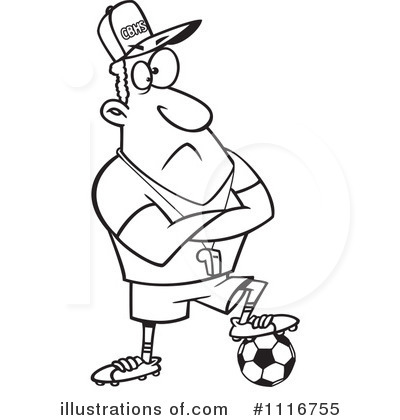 transparent download Coach clipart black and white. .