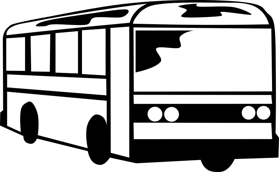clipart transparent Trip graphics illustrations free. Coach clipart black and white.