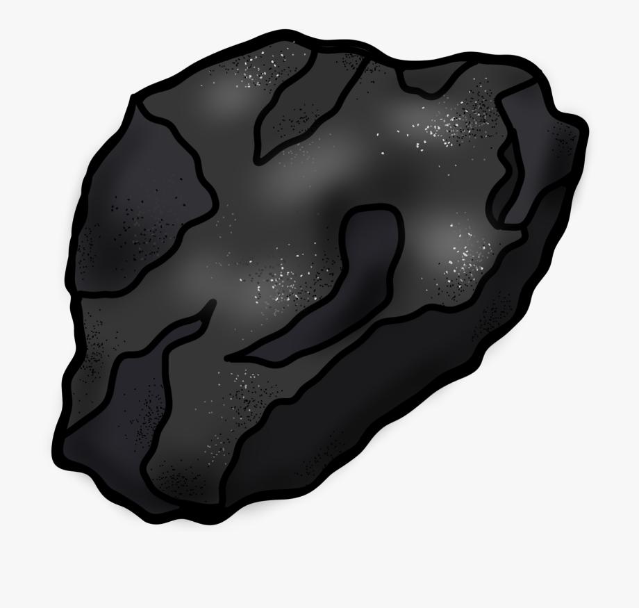 image royalty free stock Piece of transparent cartoon. Coal clipart.