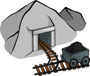 jpg free download Coal clip art at. Mining clipart