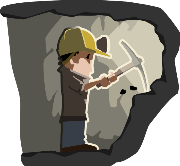 image royalty free download Miner clip art at. Coal clipart.