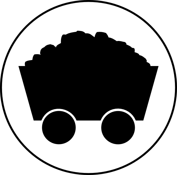 vector transparent stock Symbol clip art at. Coal clipart.