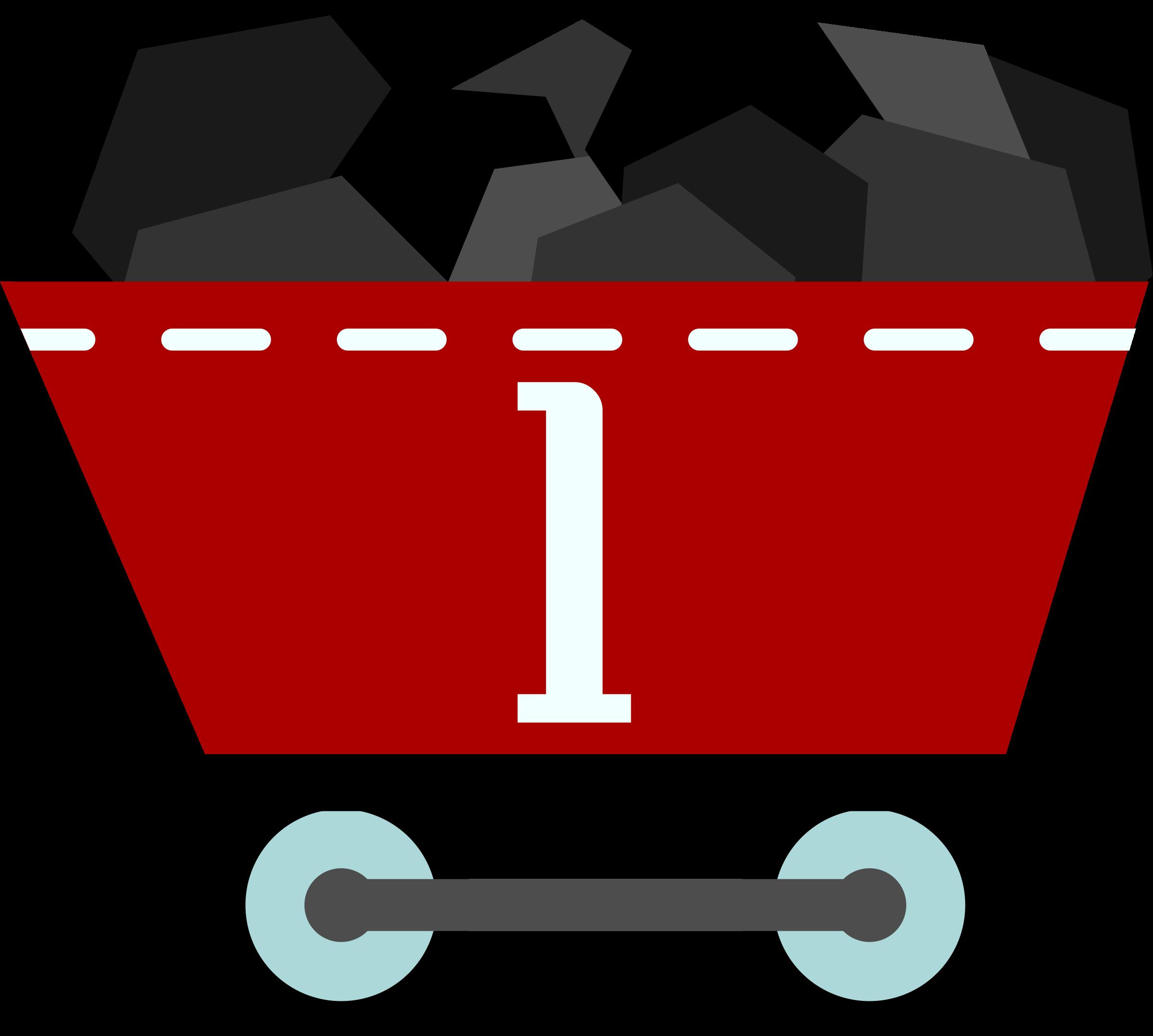 clip art library download Caboose clipart train cart. Coal clip art panda.