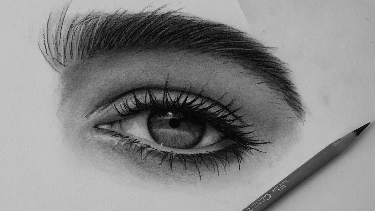 clipart royalty free How i draw eyes. Drawing charcoal