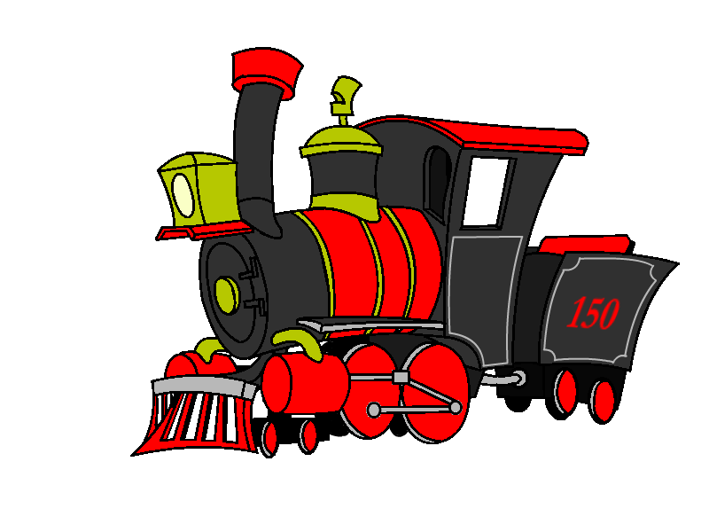 svg black and white download Steam Engine Clipart at GetDrawings