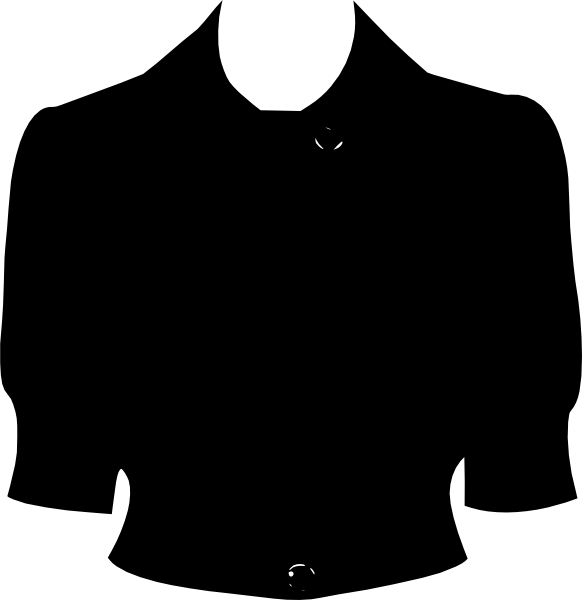 banner stock Clothing clip art at. Coat clipart jersey.