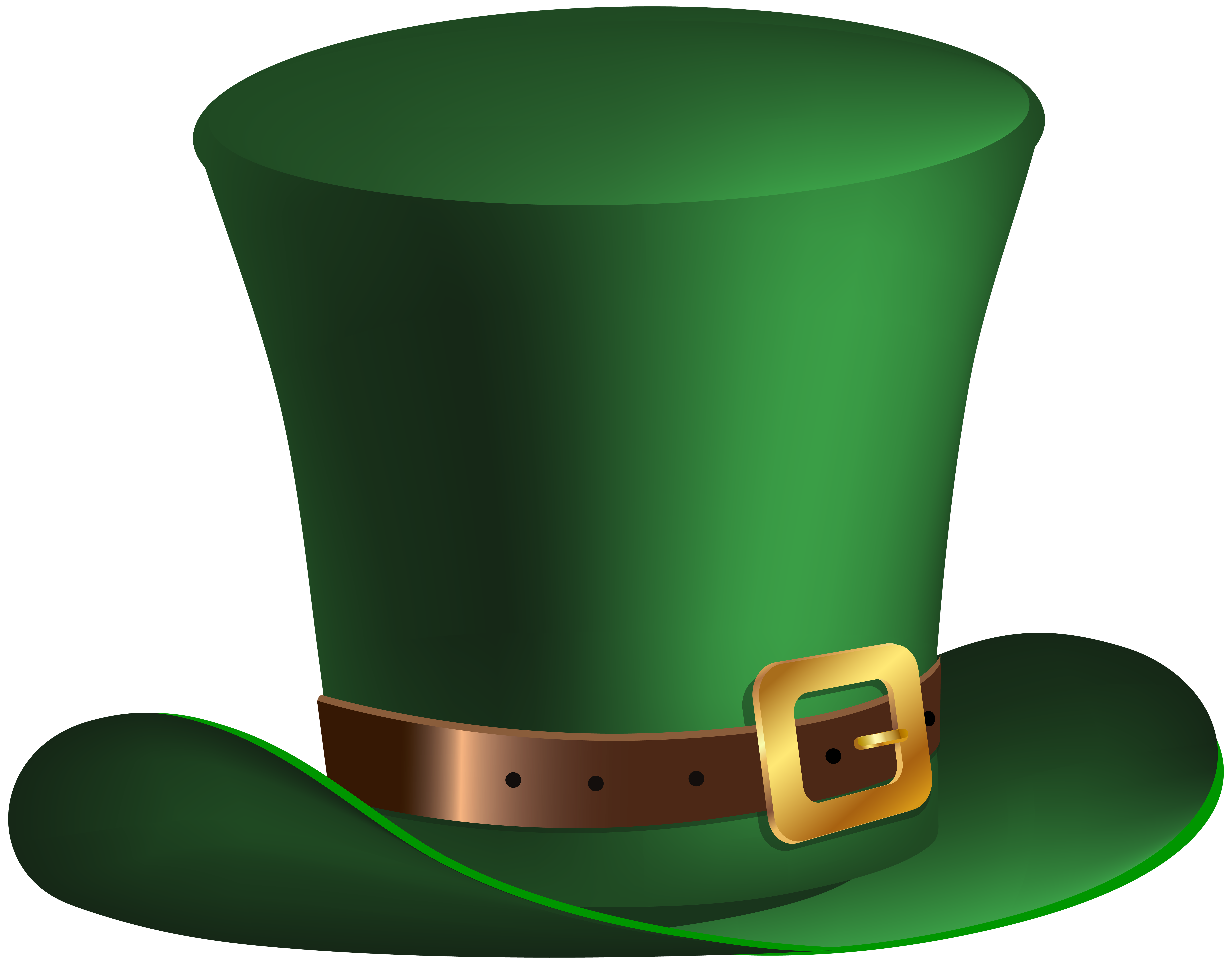 transparent library  collection of high. Leprechaun hat clipart black and white