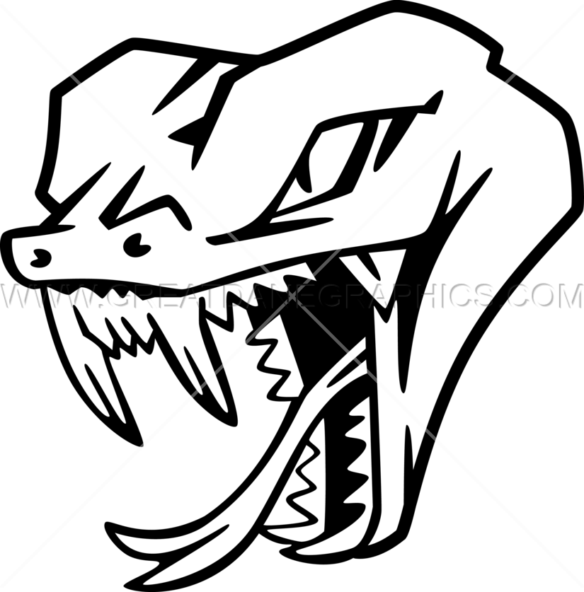 clip black and white Drawing snake head. At getdrawings com free