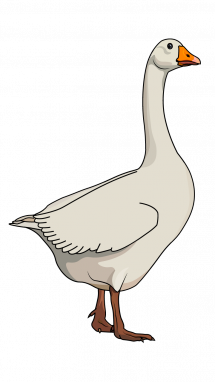 svg library Goose step by tutorial. Blackbird drawing watercolor
