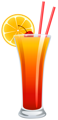 clipart download Cocktail sunrise png festa. Alcohol clipart tequila glass.