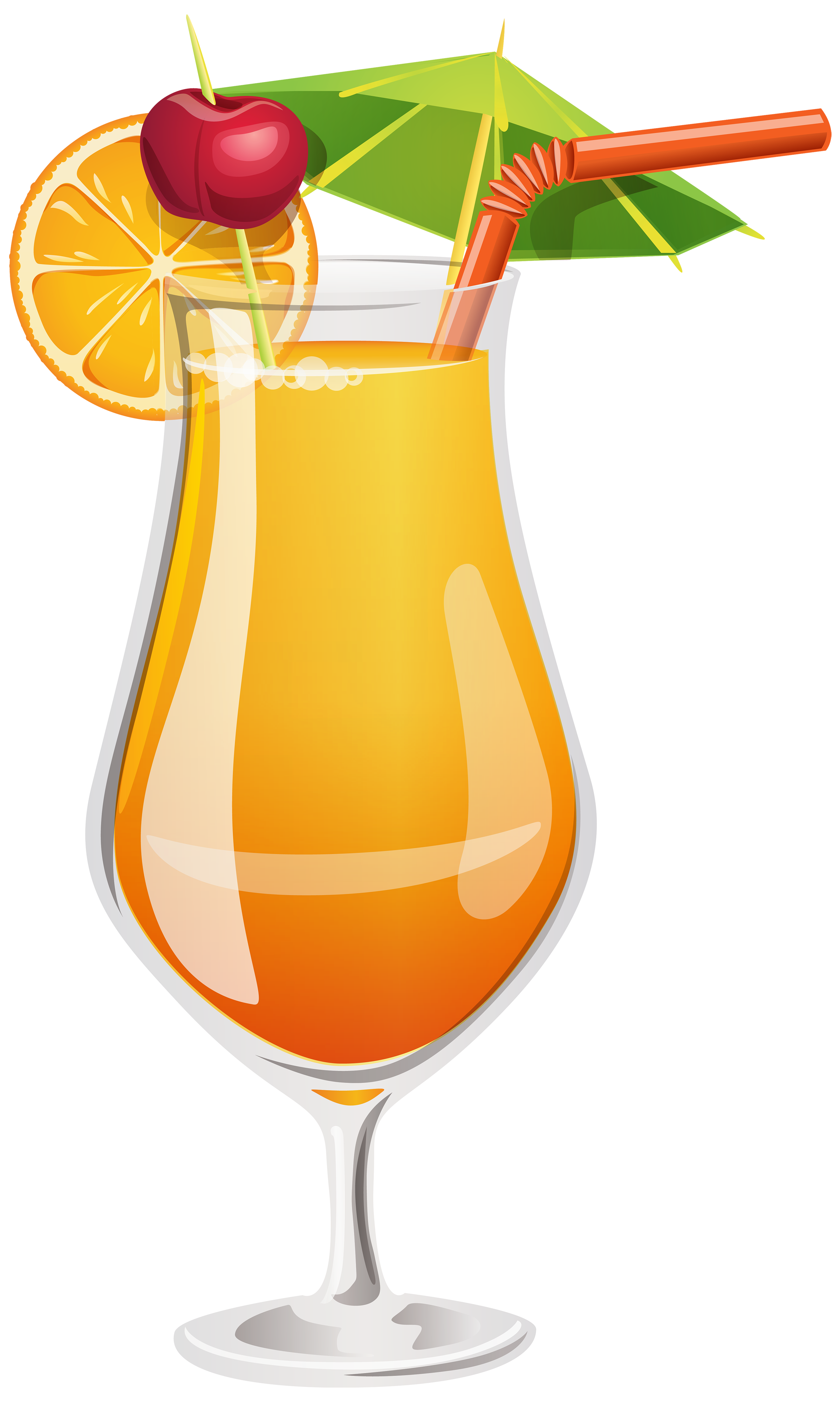clip library Orange cocktail png best. Drinks clipart.