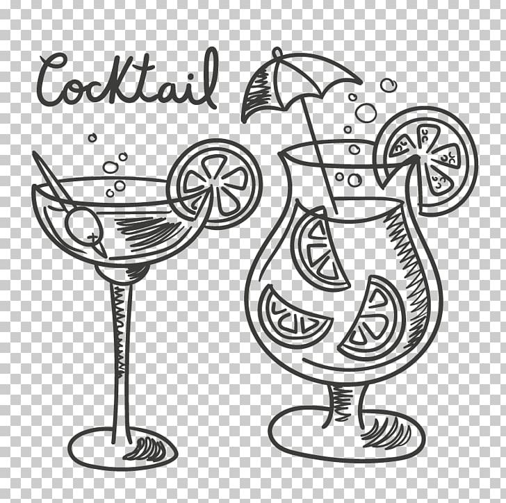 picture black and white download Cocktail Tequila Drawing Drink PNG