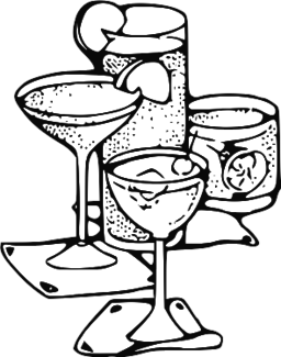 jpg royalty free cocktail drawing gin and tonic #92537452