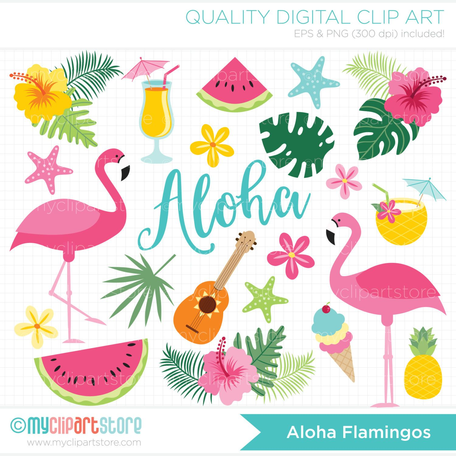 clipart free download Flamingo stickers vector tropical. Cocktails clipart blue bird
