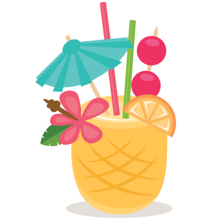 image library library Freebie of the day. Tiki clipart pineapple drink