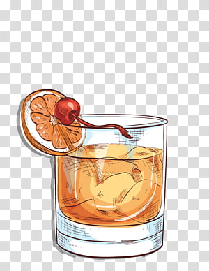 clipart transparent download Rye whiskey bourbon angostura. Cocktails clipart old fashioned cocktail