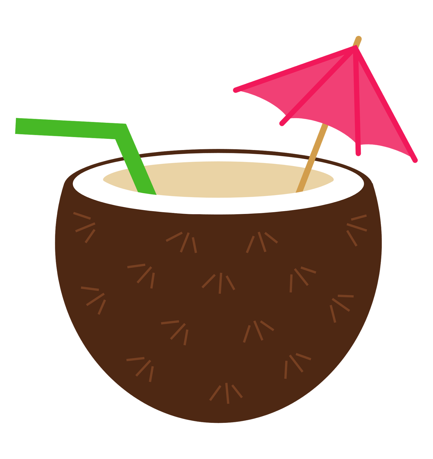 vector library library Tiki clipart pineapple drink. Coconut luau flower ra