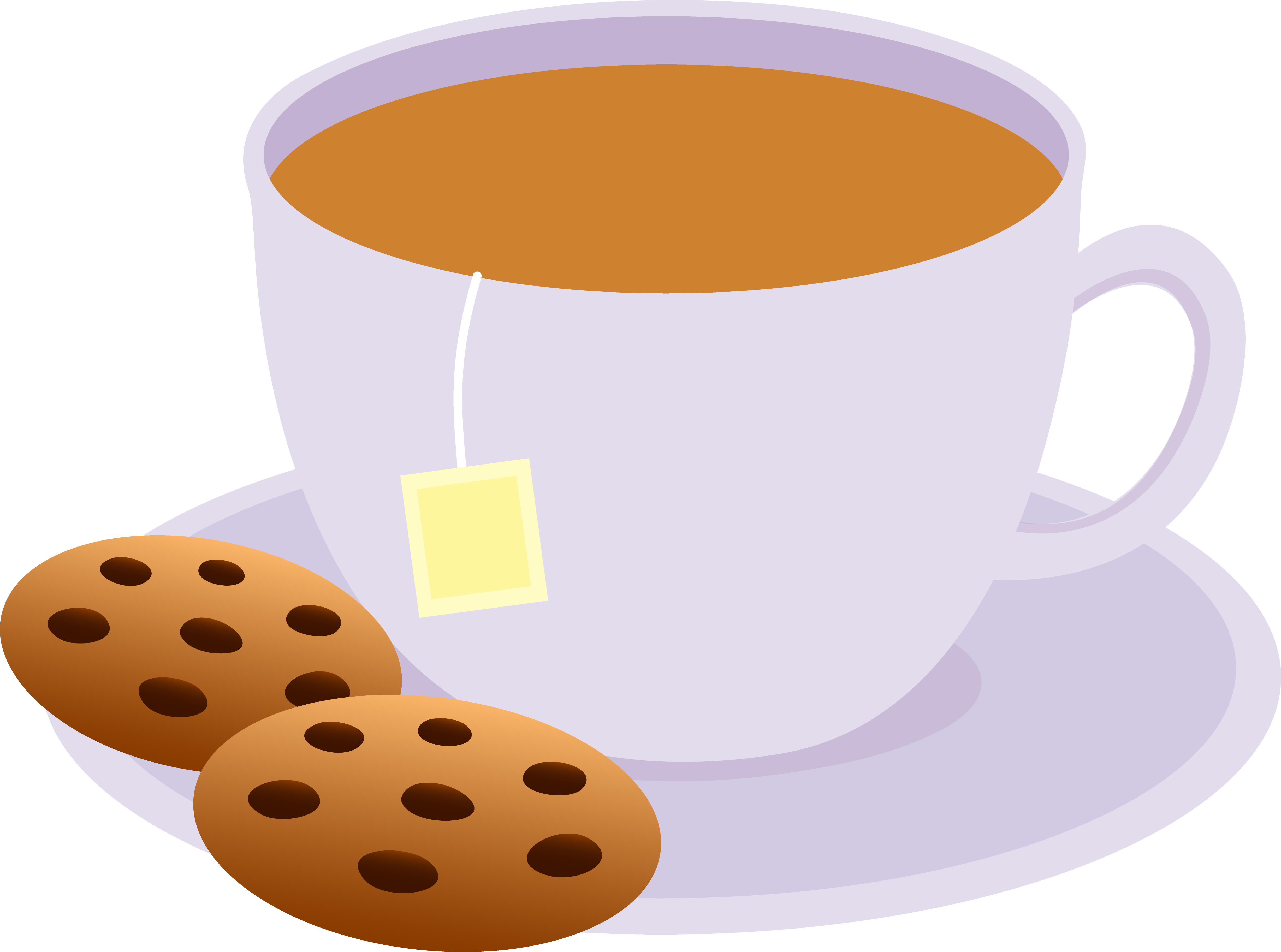 clip art royalty free library Hot chocolate afternoon tea. Mugs clipart cuppa