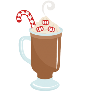 svg library stock Peppermint Hot Cocoa SVG scrapbook cut file cute clipart files for