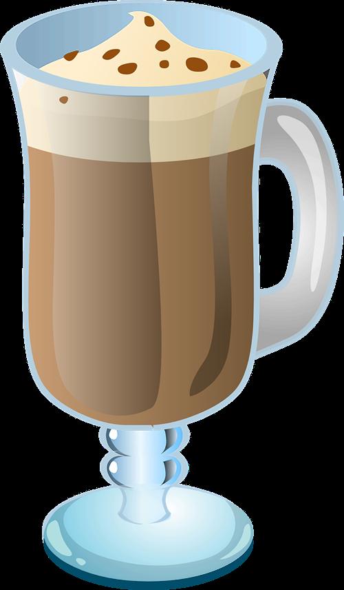 banner freeuse stock Irish coffee clipart. Mug cup clip art